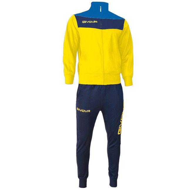 TUTA CAMPO sárga-kék